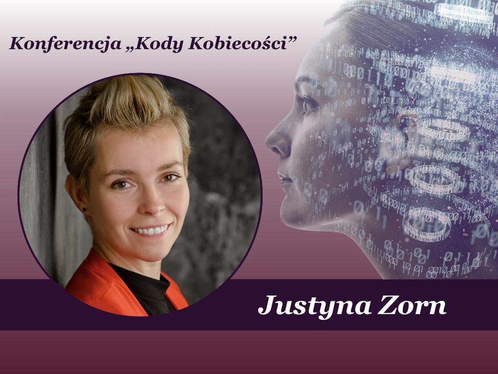 """Justyna Zorn na """"Kody Kobiecości"""""""